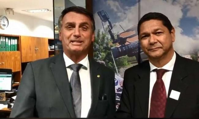 Bolsonaro e Delegado Eguchi