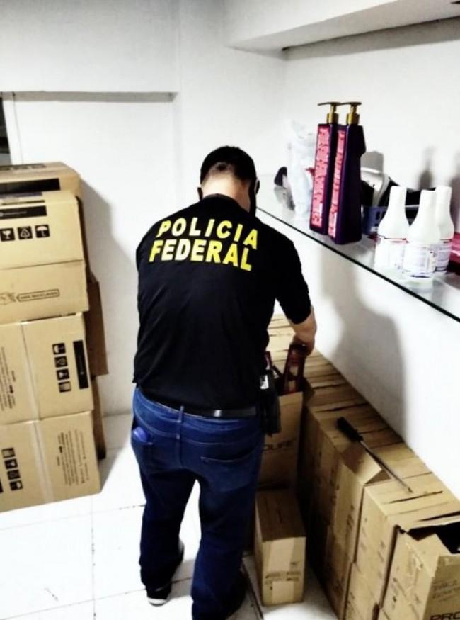 Policial federal apreende materiais em Minas Gerais — Foto: Polícia Federal/Divulgação