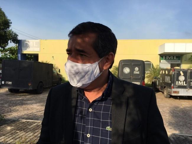 Delegado Willame Moraes fala sobre a Operação Natal de Paz — Foto: Murilo Lucena/ TV Clube