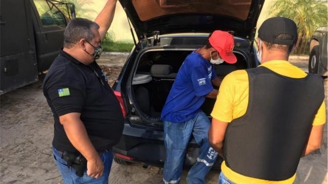 Operação Natal de Paz realizou prisões contra acusados de roubo, tráfico e homicídio em Teresina — Foto: Murilo Lucena/ TV Clube
