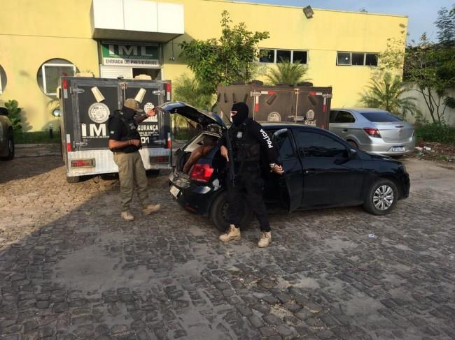 Polícia Civil cumpre 14 mandados de prisão pela Operação Natal de Paz em Teresina — Foto: Murilo Lucena/ TV Clube