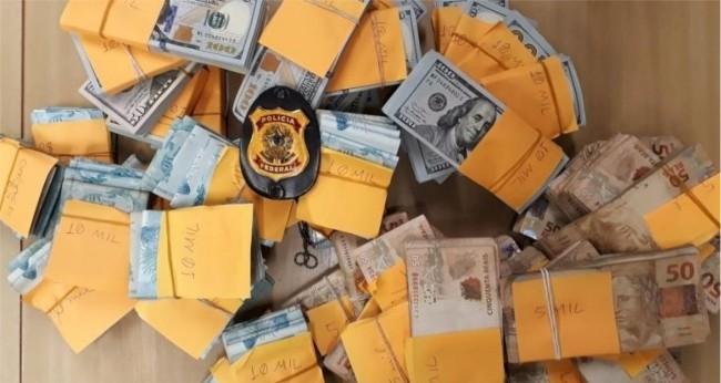 Dinheiro foi achado em compartimento secreto de carro e no imóvel de Vinicyus da Costa, o