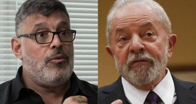 Fotomontagem: Alexandre Frota e Lula