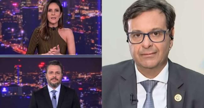 Fotomontagem: Jornalistas da CNN e Gilson Machado