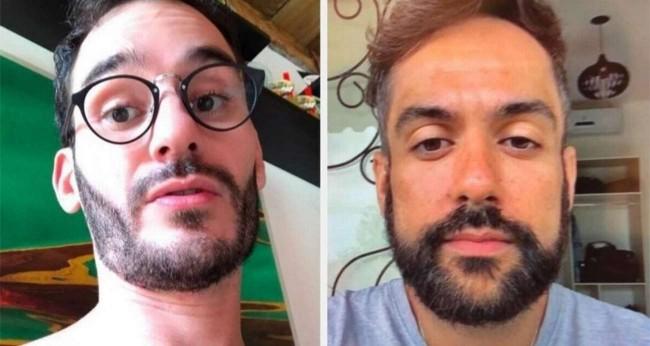 Aaron Salles e Jhony de Souza