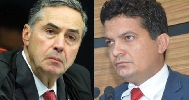 Fotomontagem: Luis Roberto Barroso e David Salomão