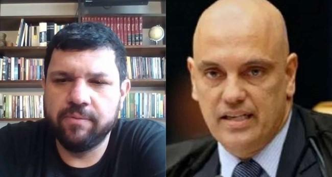 Fotomontagem: Oswaldo Eustáquio e Alexandre de Moraes