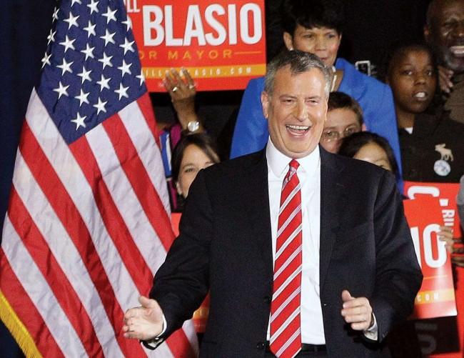Bill de Blasio, prefeito de Nova York - Reprodução internet