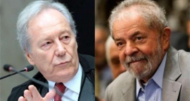 Fotomontagem: Ricardo Lewandowski e Lula