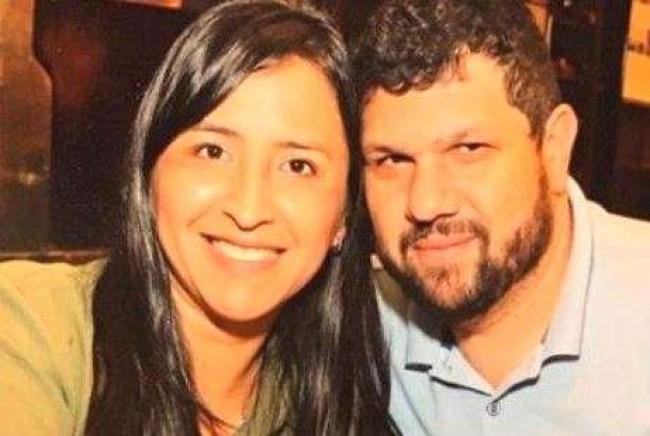 Sandra Terena e Oswaldo Eustáquio