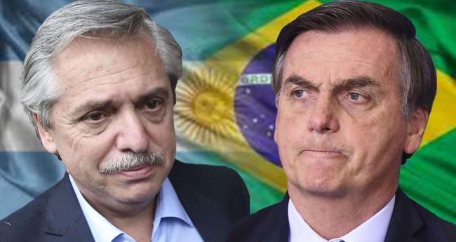Foto Reprodução/Internet - Alberto Fernandes e Jair Bolsonaro