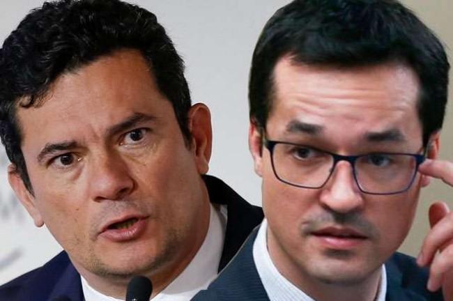 Fotomontagem: Sérgio Moro e Deltan Dallagnol
