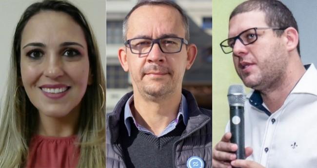 Isabela Andrade, Paulo Ferreira e Pedro Hallal