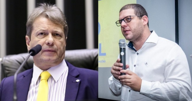Bibo Nunes e Pedro Hallal