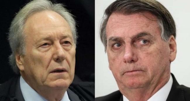 Fotomontagem: Ricardo Lewandowski e Jair Bolsonaro