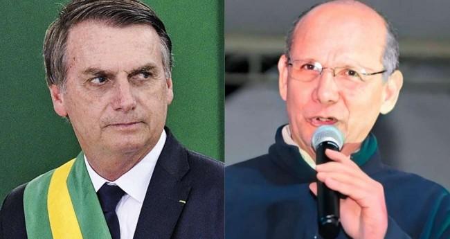 Fotomontagem: Jair Bolsonaro e Jésus Lima
