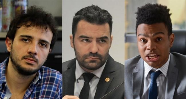 Fotomontagem: Renan, Arthur e Fernando