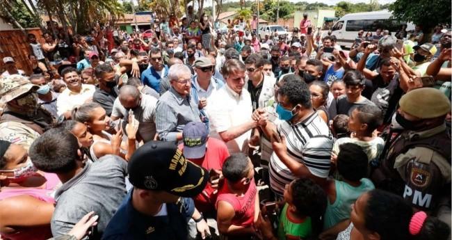 Jair Bolsonaro na Bahia