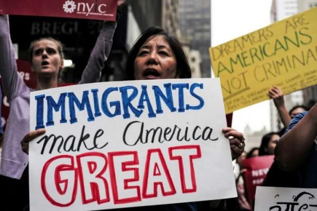 Os Estados Unidos vive um grande impasse no que diz respeito à imigração - Reprodução
