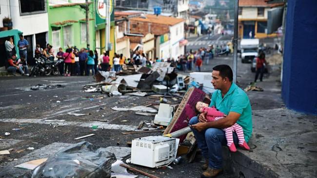 População venezuelana enfrenta a fome e a falta de esperança - Reprodução internet