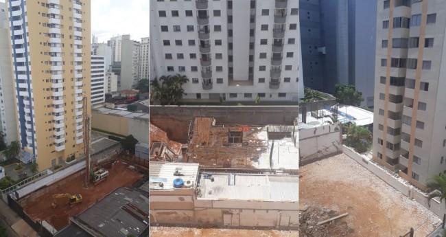 Fotomontagem: Emparedamento de prédios em SP