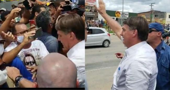 Jair Bolsonaro em Sergipe