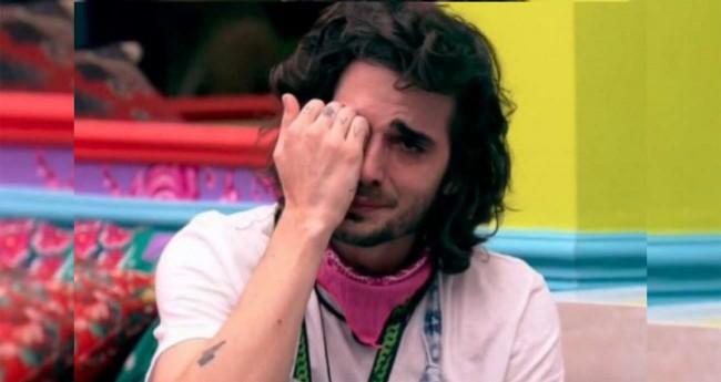 Fiuk chorando no BBB