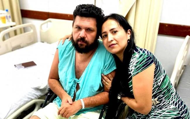 Oswaldo Eustáquio e Sandra Terena