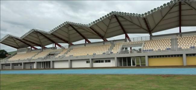 Centro Nacional de Atletismo inaugurado nesta quinta-feira (4), em Cascavel — Foto: RPC/Reprodução