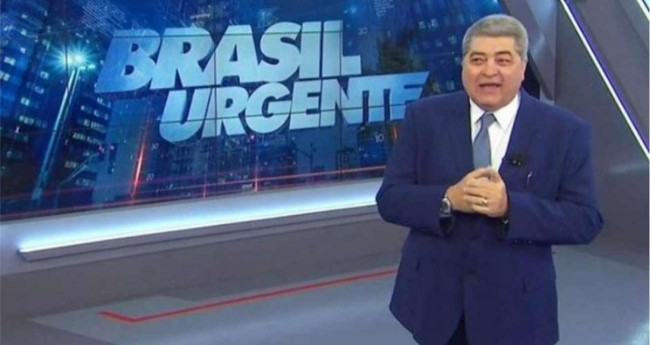 O ex-diretor trabalhava no programa Brasil Urgente, apresentado por José Luiz Datena