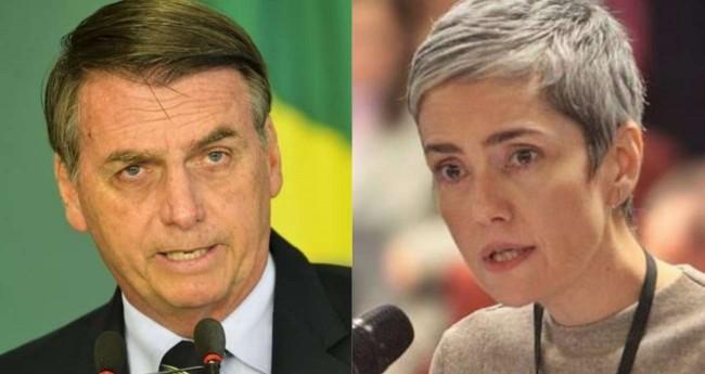 Fotomontagem: Jair Bolsonaro e Debora Diniz