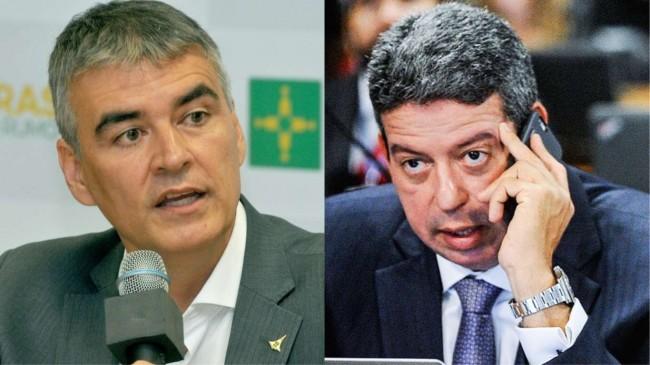 Sérgio Sampaio e Arthur Lira (Créditos: Tony Winston/Agência Brasília - Marcos Oliveira/Agência Senado)
