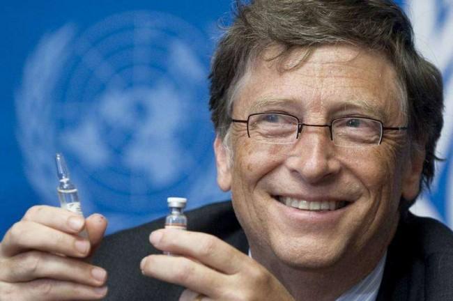 Gates e outros bilionários acreditam na construção de uma sociedade sem doenças - Reprodução internet
