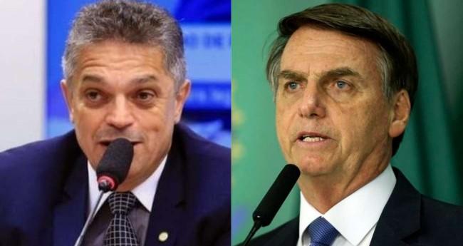 Fotomontagem: João Rodrigues e Jair Bolsonaro - Créditos: Alex Ferreira/Câmara dos Deputados e Valter Campanato/Agência Brasil