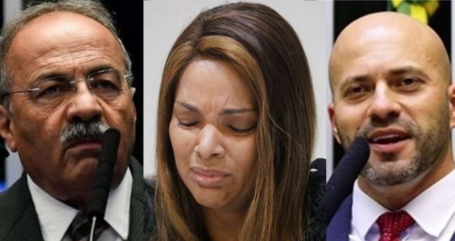 Fotomontagem - Crédito: Jefferson Rudy/Agência Senado, Fernando Frazão/Agência Brasil e Pablo Valadares/Câmara dos Deputados