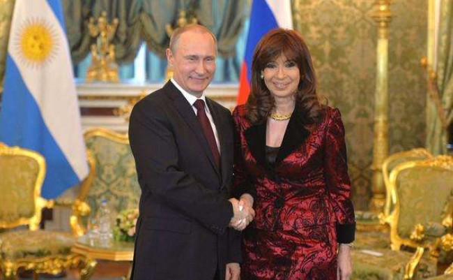 Putin e Cristina Kirchner