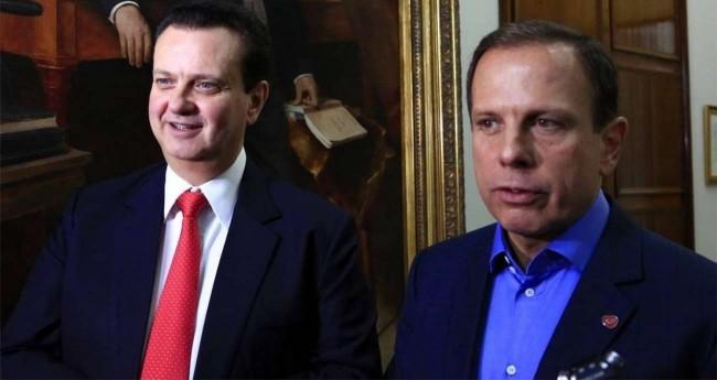 Gilberto Kassab e João Doria