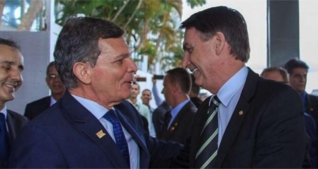 General Silva e Luna e Jair Bolsonaro