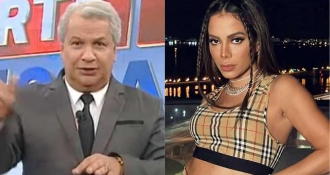 Fotomontagem: Sikêra Júnior e Anitta (Reprodução)