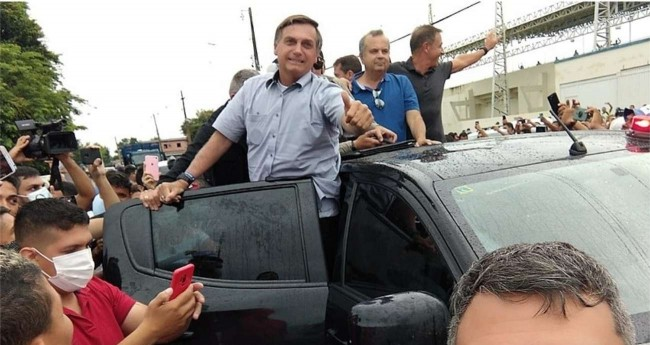 Jair Bolsonaro no Acre