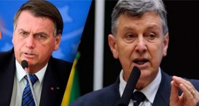 Fotomontagem: Jair Bolsonaro e Luiz Carlos Heinze