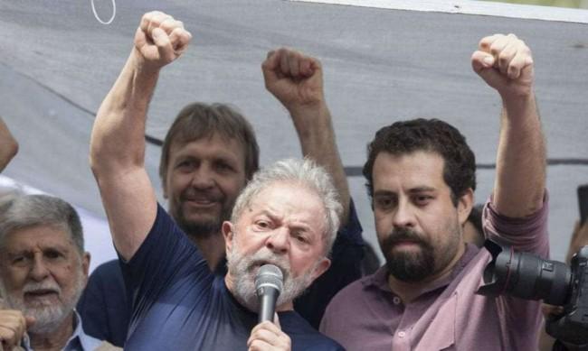 Luiz Inácio Lula da Silva e Guilherme Boulos (Reprodução)