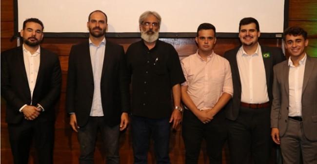 Sérgio Sant'Ana, Eduardo Bolsonaro, Alexandre Siqueira, Junio Amaral, Bruno Engler e Nikolas Ferreira.