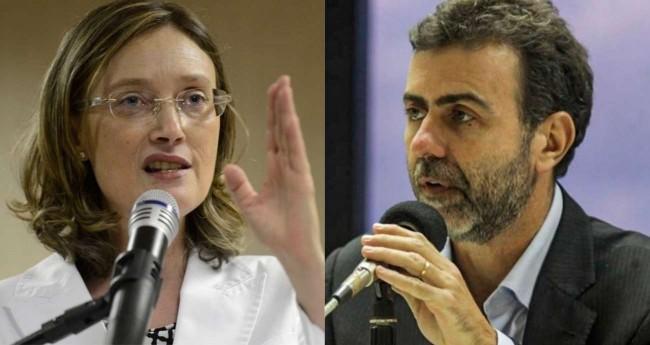 Fotomontagem: Maria do Rosário e Marcelo Freixo - Foto: FRP/Agência Brasil e Divulgação