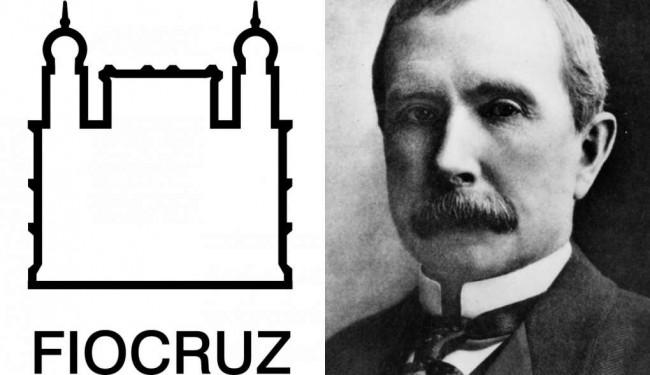 Fiocruz e  Rockefeller: uma parceria antiga - Fotomontagem