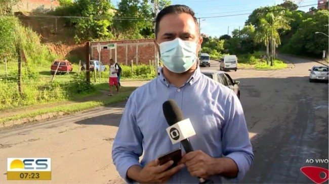 Foto: Reprodução/TV Globo ES