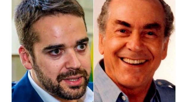 Fotomontagem: Eduardo Leite e Leonel Brizola