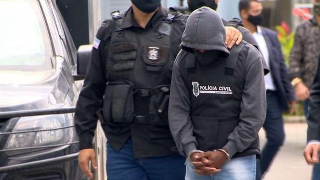 Tio suspeito de estuprar sobrinha no ES — Foto: Ari Melo/TV Gazeta