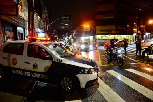 Na cidade, circulação está proibida das 22h às 4h, como medida de prevenção à covid-19. Foto: Divulgação / PMSBC