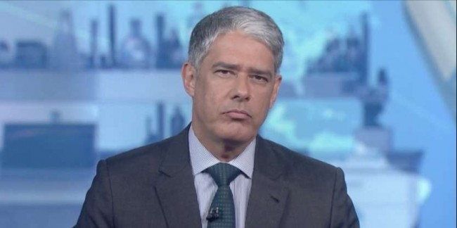 William Bonner - Reprodução/Globo